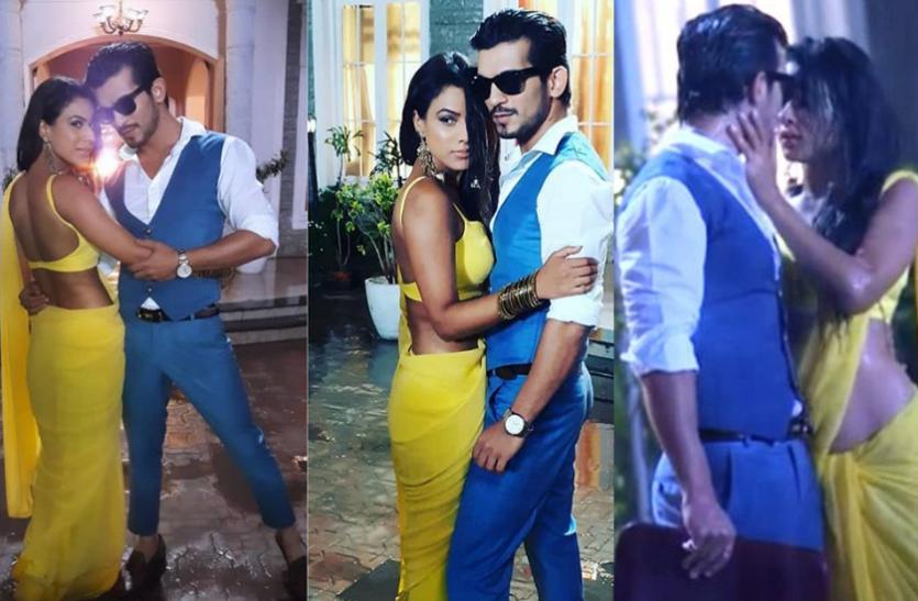 अर्जुन बिजलानी का बारिश में एक्ट्रेस के साथ रोमांटिक वीडियो, साथी स्टार्स ने पूछा- रात में ये चीज क्यों पहन रखी है