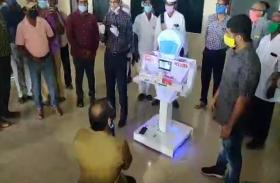 नेल्लोर: अस्पताल में कोरोना वारियर्स की मदद करेगा रोबोट, इतने कम समय में हुआ तैयार