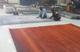 लाकडाउन में कालीन उद्योग को मिली काम करने की छूट, मज़दूरों को भी मिलेगा काम
