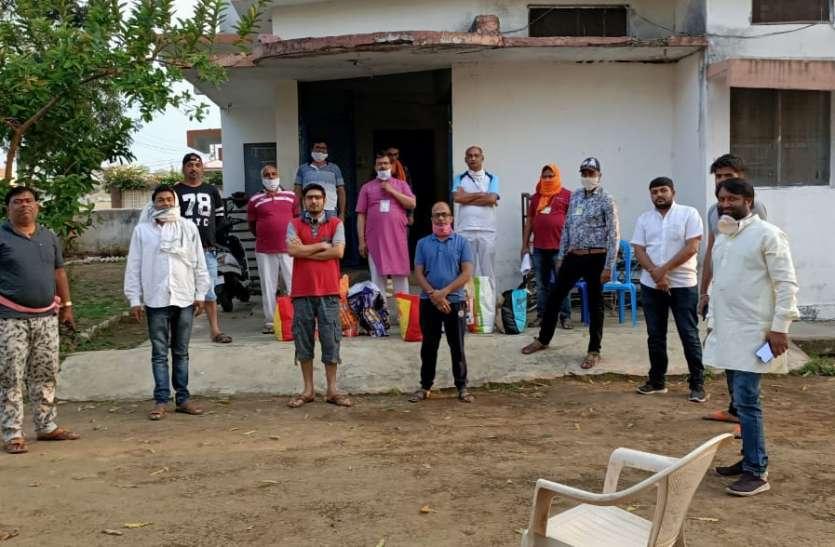 350 परिवारोंं को राशन और 35 हजार परिवारों को वितरित की हरी सब्जियां
