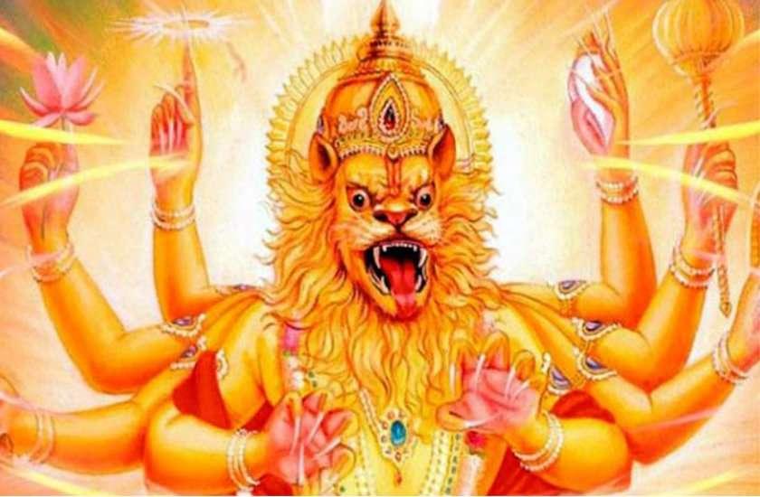 भगवान नृसिंह जयंतीः शुभ मुहूर्त व पूजा विधि