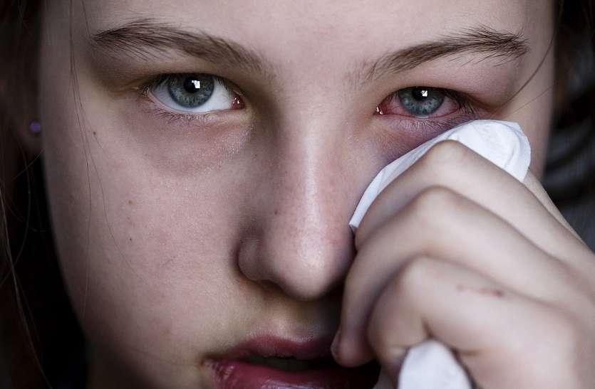 AMAZING : नाक से निकलने के बाद आंख में मिला कोरोनावायरस