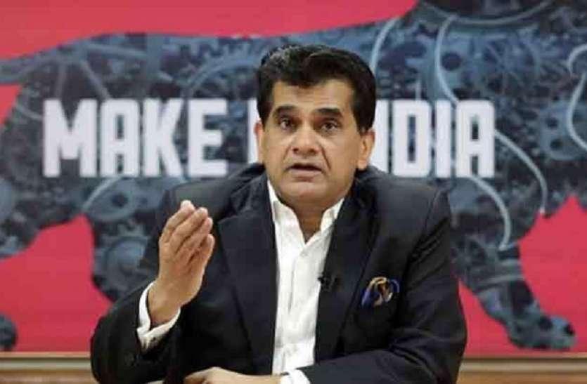 भारत को मैन्युफैक्चरिंग और एक्सपोर्ट हब बनाने की तैयारी जोरों पर- नीति आयोग