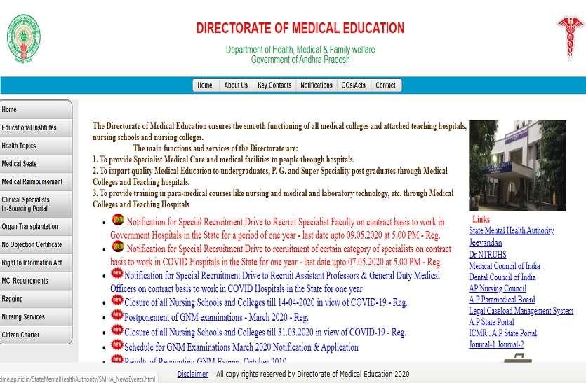 डीएमई भर्ती 2020: 235 विशेषज्ञ पद के लिए ऑनलाइन करें आवेदन