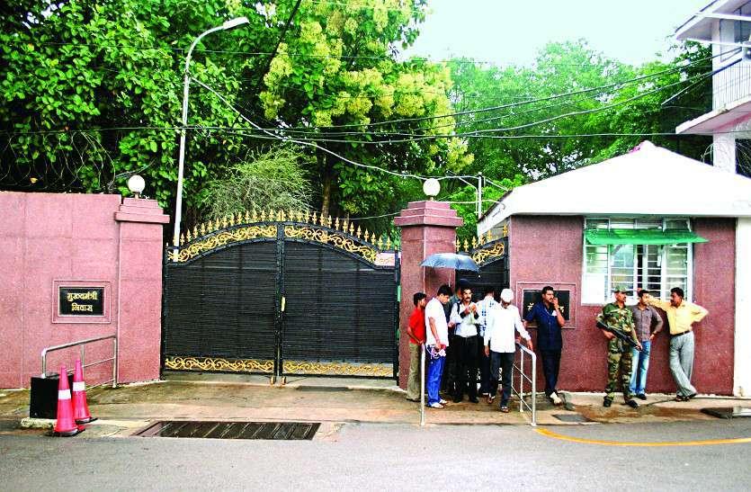 रायपुर में कोरोना पॉजिटिव मिलने के बाद मुख्यमंत्री आवास में बढ़ी सख्ती, इलेक्ट्रीशियन समेत इनके प्रवेश पर रोक