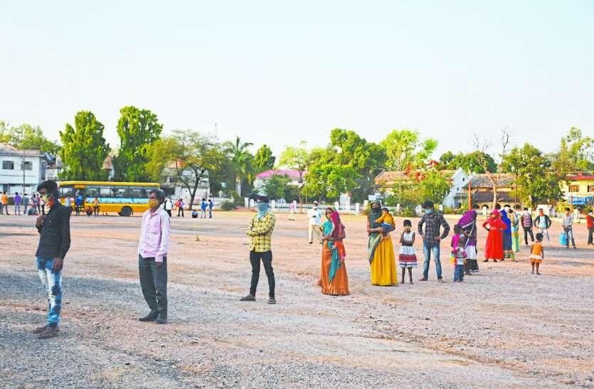Lockdown: प्रशासन परेशान, 17 सौ मजदूरों के मोबाइल बंद