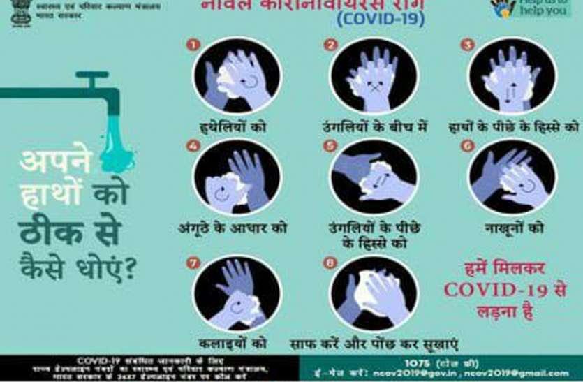 World hand hygiene 2020 : हाथों को स्वच्छ बनाएं- बीमारी दूर भगाएं