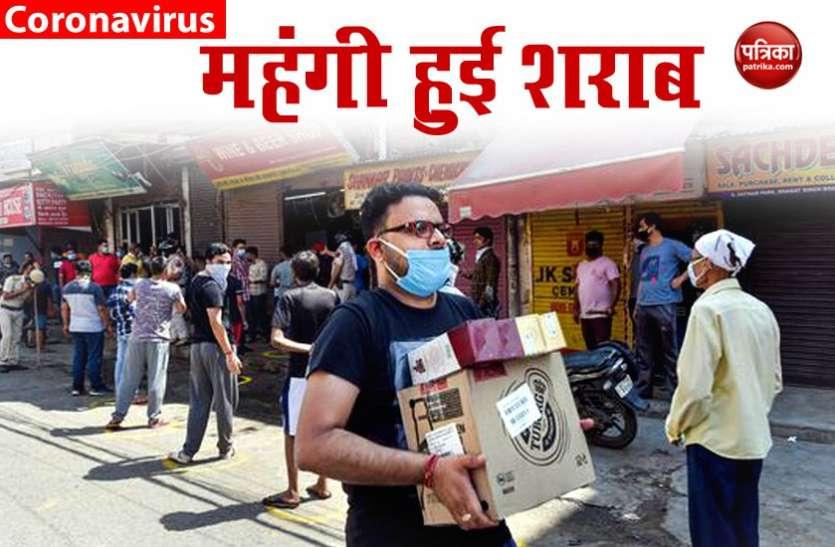 दिल्ली में शराब पर लगा स्पेशल कोरोना टैक्स, 70% महंगी हुई शराब