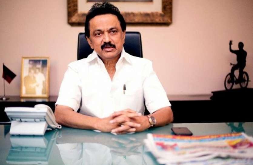 वायरस के प्रसार को रोकना है तो  नार्थ चेन्नई के लोगों को अन्य जगहों पर अस्थाई तौर पर करें शिफ्ट: स्टालिन