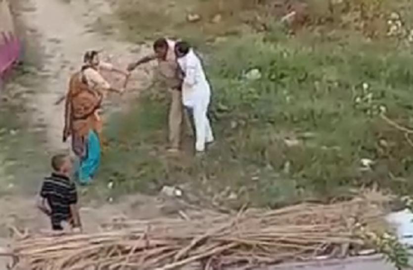 Ghaziabad: लॉकडाउन में झगड़े की सूचना पर पहुंचे दरोगा को महिलाओं ने पीट दिया
