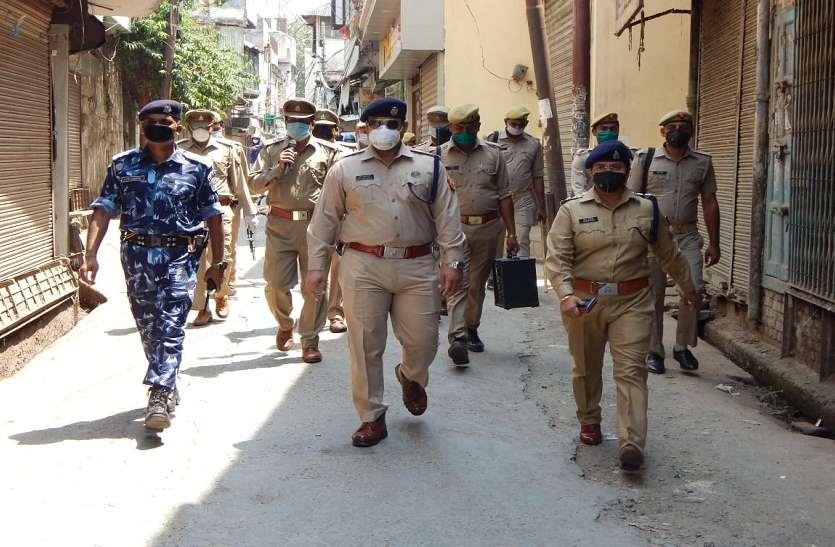 Moradabad: क्वारंटाइन होने के बाद पुलिस कर्मियों ने ज्वाइन की ड्यूटी, हुआ जोरदार स्वागत