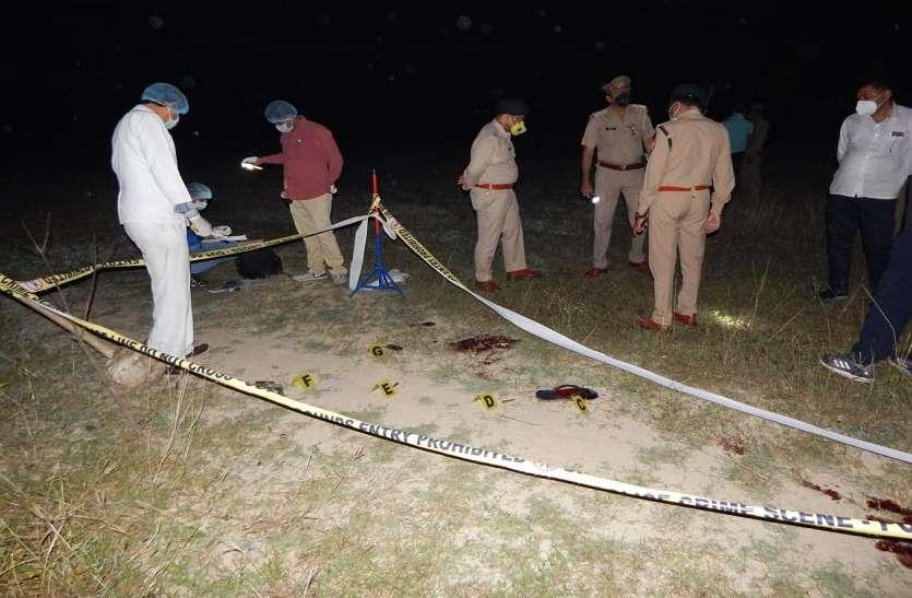 Moradabad: लॉक डाउन में मुठभेड़ के बाद पुलिस ने गैंग्स्टर के आरोपी को किया गिरफ्तार