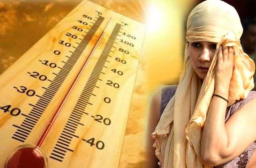 द्रोणिका का प्रभाव: पर्याप्त मात्रा में आ रही नमी फिर भी नहीं हो रहा तापमान कम
