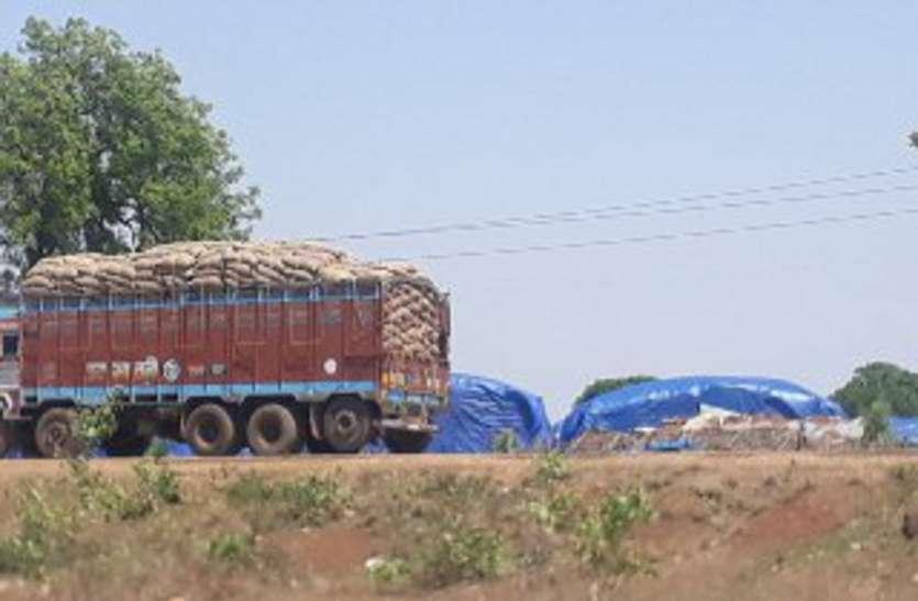 केन्द्रों पर प्रति दिन 60 हजार क्विंटल की तौल, परिवहन 50 फीसदी