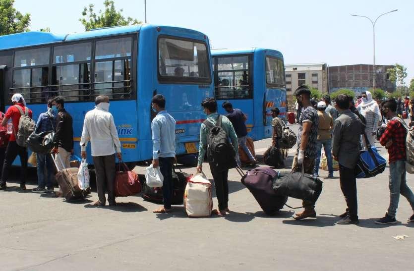 लॉकडाउन में राजस्थान में इतने प्रवासियों की हुई घर वापसी