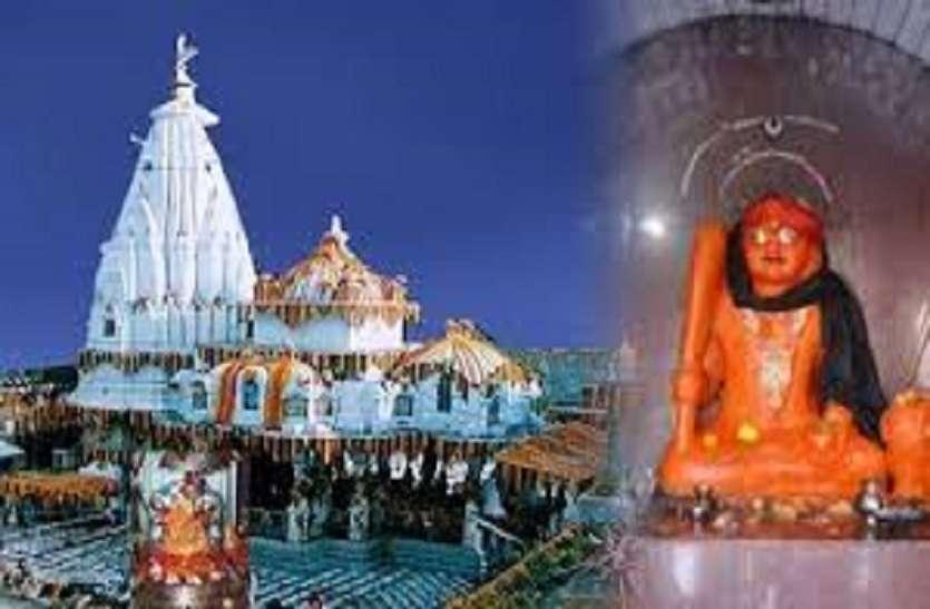 कोई परेशानी आने से पहले भैरव की मूर्ति से गिरने लगते हैं आंसू