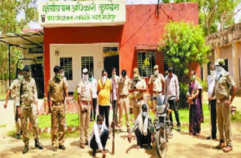 रणथम्भौर: हरिण का शिकार, दो गिरफ्तार