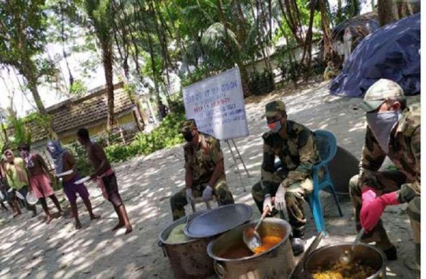 CORONA ALERT: बॉर्डर इलाकों में कोरोना से जंग में डटा है बीएसएफ