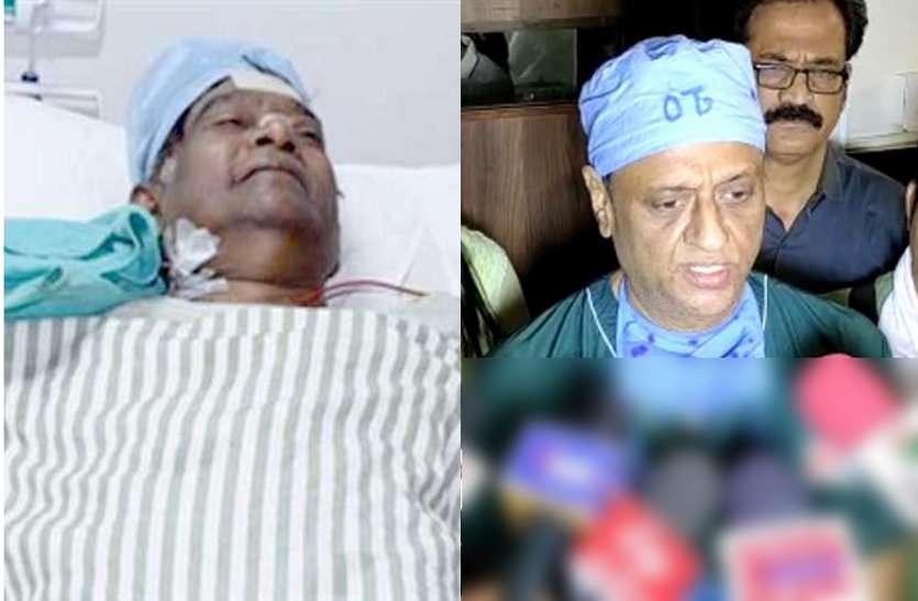 पूर्व मुख्यमंत्री अजीत जोगी कोमा में, स्थिति चिंताजनक, मेडिकल बुलेटिन जारी