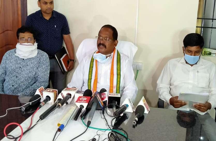 मंत्री अमरजीत बोले- पीएम मोदी से डरते हैं राज्यसभा सांसद नेताम, कोई भूखा न रहे इसकी हम कर रहे चिंता