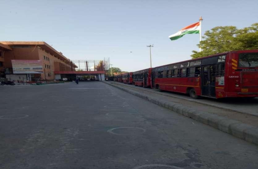 Ahmedabad : एएमटीएस ने की श्रमिकों को रेलवे स्टेशन पहुंचाने की व्यवस्था