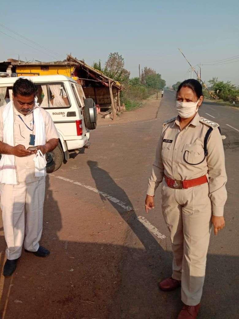 SDOP Bhavna Maravi,