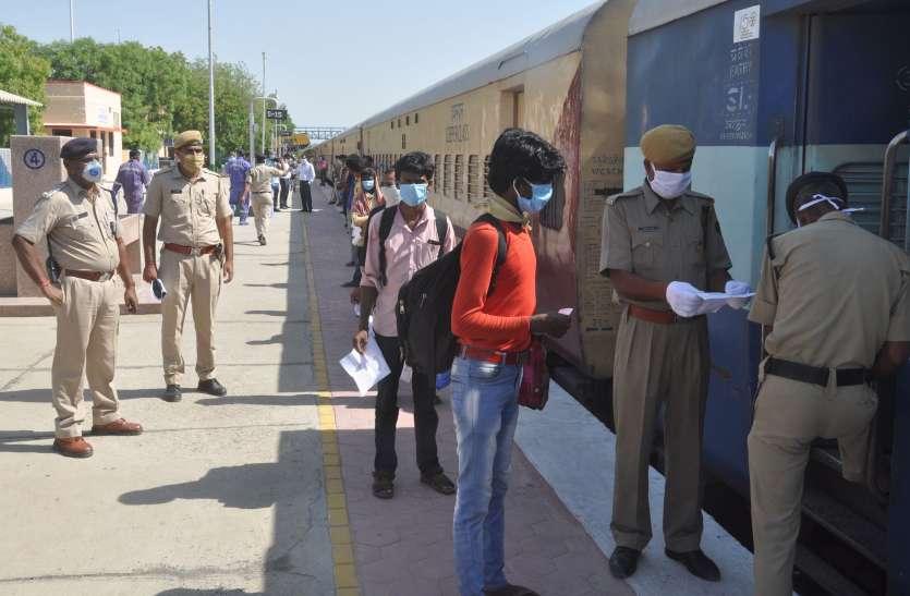 स्पेशल ट्रेन: बाड़मेर से 1200 श्रमिकों की बिहार रवानगी