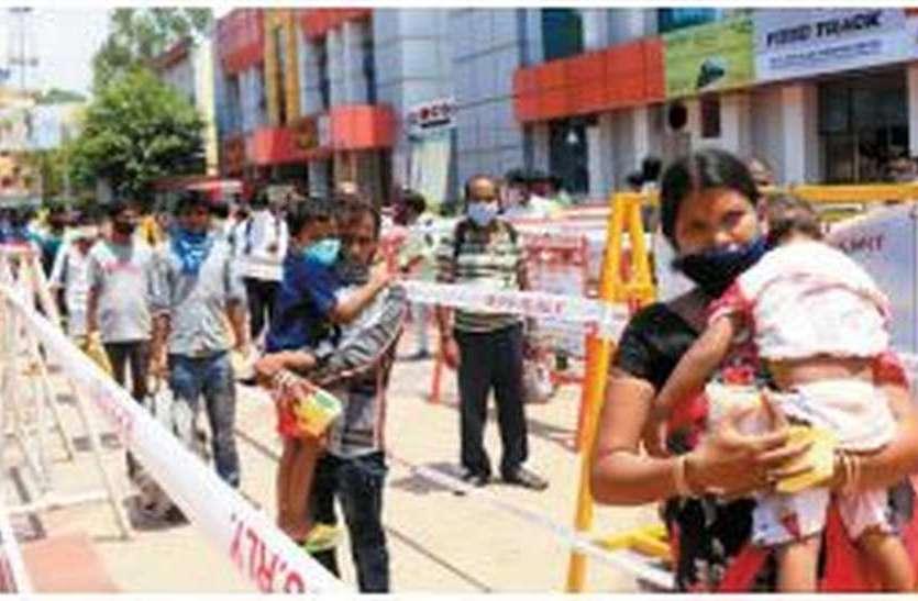 राजस्थानियों को बंधी उम्मीद, बिहार के कामगारों का भी एक जत्था रवाना
