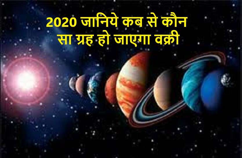 Planets retrograde speed in 2020 and its effects on india