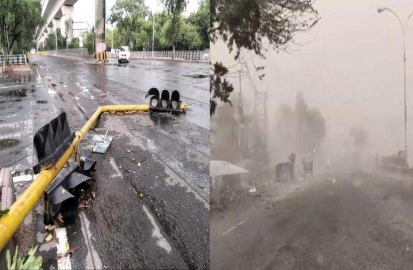 धूलभरी आंधी के बाद आई तेज बारिश, 5वर्षीय बच्चे की मौत, मचा कोहराम