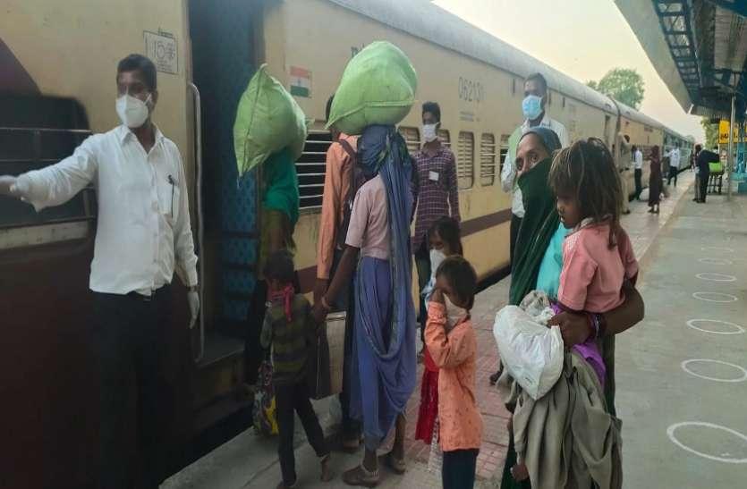 Ahmedabad News : घर रवाना हुए श्रमिक व परिवार