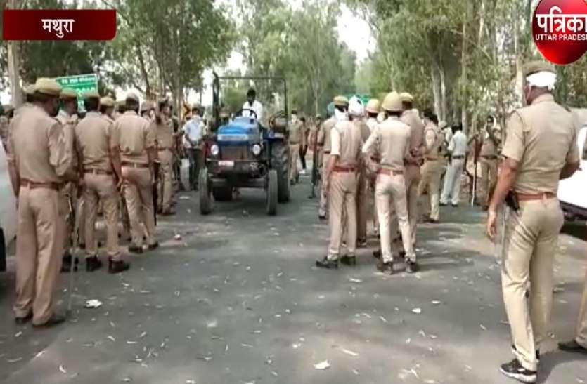 यूपी-राजस्थान बॉर्डर पर प्रवासी मजदूरों को लेकर भिड़े दो राज्यों के पुलिसकर्मी, वीडियो वायरल