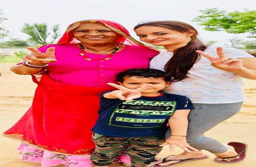 Mother's Day 2020 : घर में दौड़ कर सेलिब्रेट किया मदर्स डे