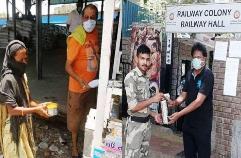 पश्चिम रेलवे व आईआरसीटीसी का 'मिशन फूड डिस्ट्रीब्यूशन', 40 दिनों में 4.90 लाख जरूरतमंदों को परोसा खाना