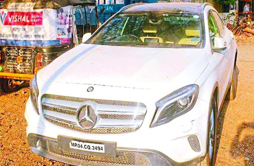 नागदा के इनामी बदमाश सलमान लाला से पूछताछ में चौकान्ने वाले खुलासे... इंदौर से चुराई थी मर्सिडीज
