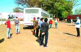 जयपुर से चली बस रास्ता भटकी, बांसवाड़ा के बजाय पहुंच गई मंदसौर