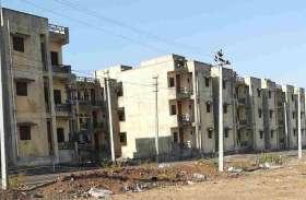 राजीव गांधी आवास को कोविड केयर सेंटर बनाने की तैयारियां हुई तेज