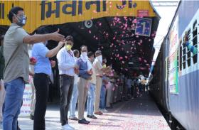 हरियाणा से चली श्रमिक स्पेशल ट्रेन, 1400 मजदूर बिहार के लिए हुए रवाना, जताया आभार
