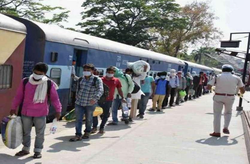 Special train सकुशल वापसी: छत्तीसगढ़ के श्रमिकों को लेकर 13 मई को लखनऊ से रायपुर पहुंचेगी स्पेशल ट्रेन