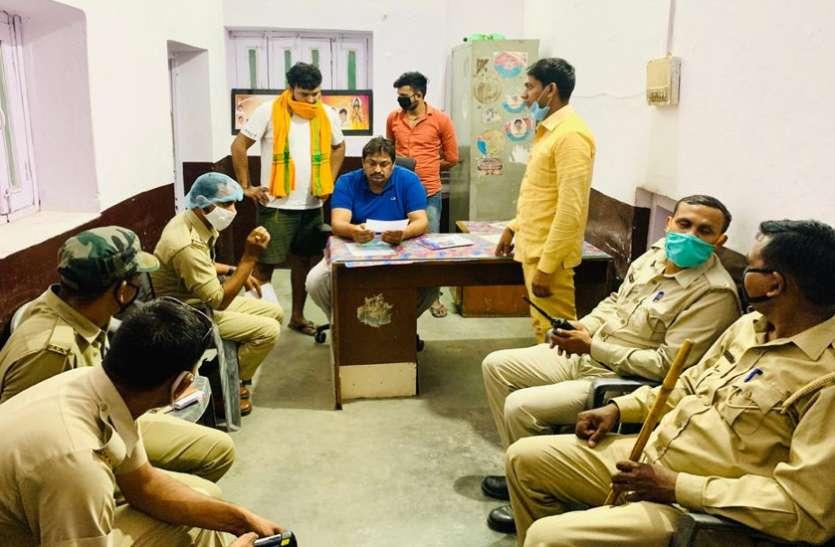 बाहुबली पूर्व विधायक को प्रवासियोंको खाना खिलाना पड़ा भारी, यूपी पुलिस ने की ये कार्रवाई