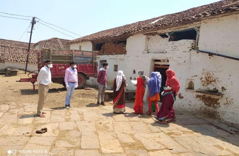 सर्रा गांव कंटेनमेंट, 100 मीटर का दायरा बफर क्षेत्र घोषित