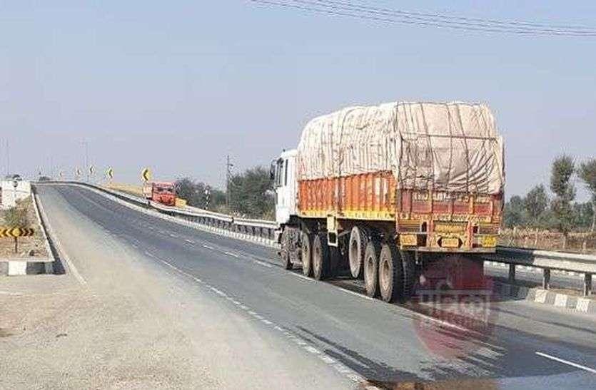 फोरलेन पर चोर गिरोह सक्रिय, ट्रक चालकों को बना रहे निशाना