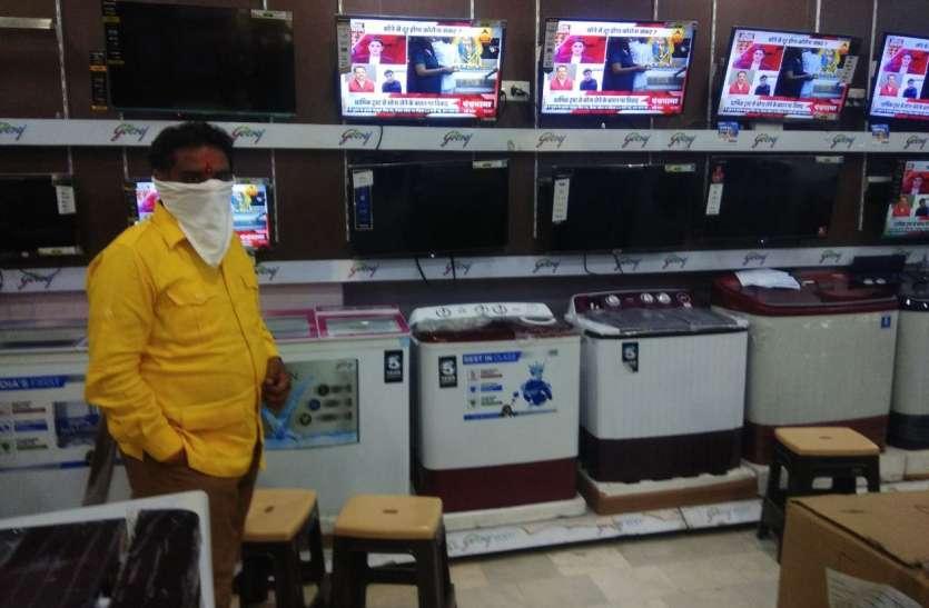 जैसलमेर में 40 फीसदी दुकानें खुली, अब ग्राहकों की बाट