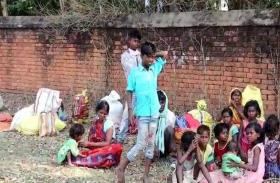 धनबाद से रवाना हुईं मजदूर महिला ने सड़क किनारे जन्मा बच्चा, नवजात ने तोड़ा दम