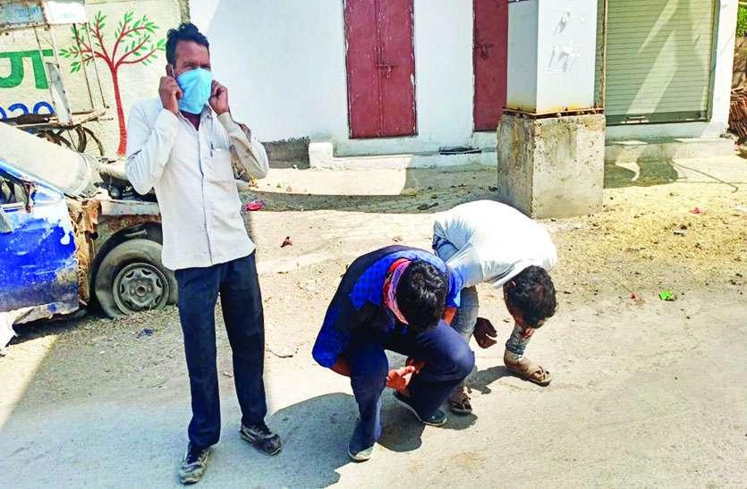 लॉकडाउन का उल्लंघन : दो दर्जन से अधिक लोगों पर प्रकरण दर्ज