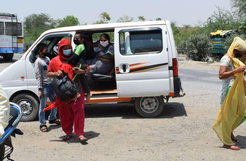 जिले में बढ़ रहा प्रवासी मजदूरों का आगमन