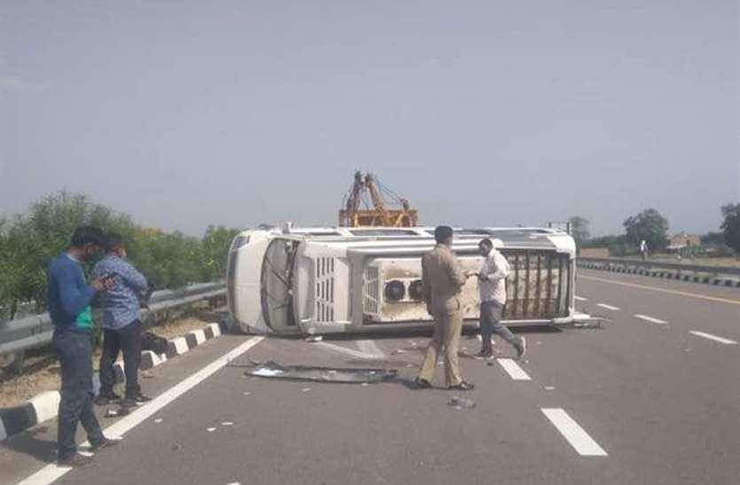 हादसे दर हादसे: औरैया के बाद कन्नौज में सडक़ हादसा, एक दर्जन घायल