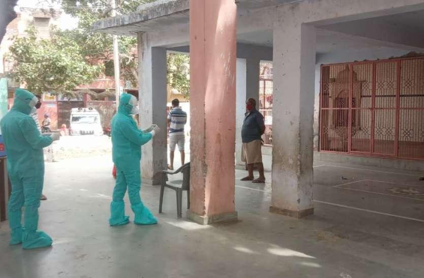 कोरोना वायरस की जांच के लिए60 जनों के सैम्पल जयपुर भेजे
