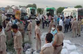 औरैया हादसा: मरने वालों में अधिकतर बिहार और झारखंड के, नींद में था ट्रक का ड्राइवर