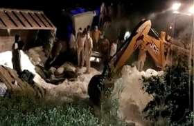 औरेया में प्रवासी मजदूरों से भरी ट्रक को डीसीएम ने मारी टक्कर, 24 से अधिक की मौत, सीएम योगी ने मांगी जांच